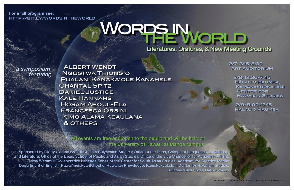 words in the world poster